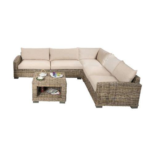 taille canapé angle salon d 39 angle en rotin canapé d 39 angle en rotin et table