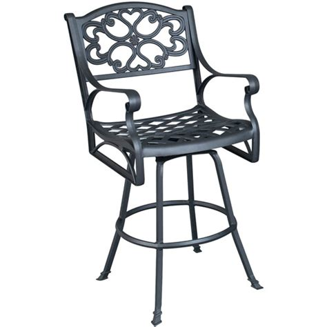 Swivel Patio Chairs Walmart by Home Styles Biscayne Swivel Bar Stool Finishes