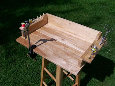 woodworking plans can crusher portable fly tying bench