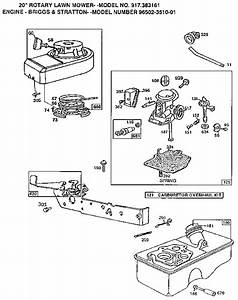 Carburetor Diagram  U0026 Parts List For Model 917383161