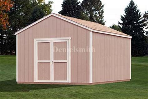 12x12 gable storage shed plans buy it now get it fast