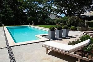 comment amenager autour de ma piscine decoration maison With beton autour d une piscine