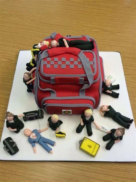 paramedic cake emrpcpfirefighting pinterest cake