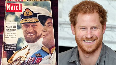 Prince Philip Beard Prince Philip Looks Like Grandson Prince Harry In 1957