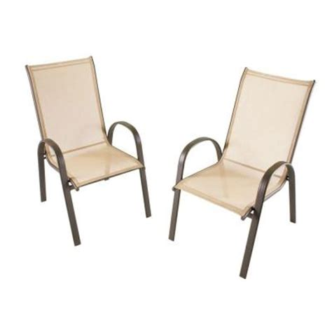 stack collection patio sling chair 4 pack discontinued