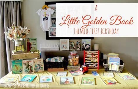 kids parties   golden book themed  birthday