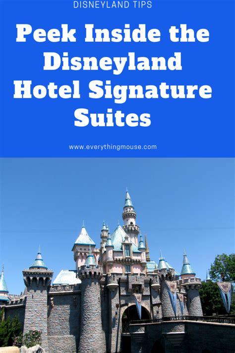 disneyland hotel signature suites