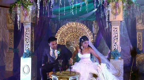 awesome trinidad hindu wedding couple youtube