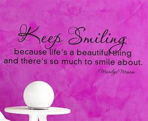Quotes About Her Beautiful Smile. QuotesGram