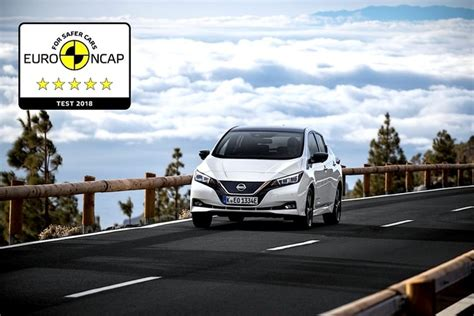 nissan leaf achieves  star safety rating  euro ncap