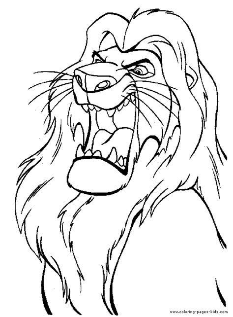 lion king coloring pages  dr odd