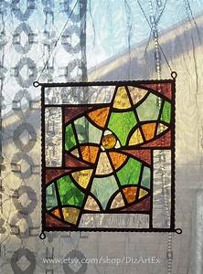 """Mini Vitrage """"Second Part Of Summer II"""" Stained Glass"""