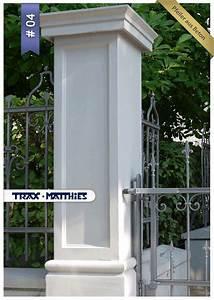Sichtschutzzaun Aus Beton : 1000 images about pfeiler tor und zaunpfeiler gate piers on pinterest posts classic and ~ Sanjose-hotels-ca.com Haus und Dekorationen