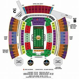 Ticket Prices And Levels For Pittsburgh Steelers Home Games