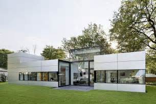 single house modern single cubical house with a metal facade in cologne freshome com