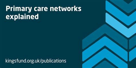 primary care networks explained  kings fund