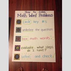 178 Best Mathproblem Solving Images On Pinterest  Guided Math, Teaching Ideas And Grade 2
