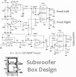Power Audio Amplifier 2  1  2 Front   1 Subwoofer  In 2019