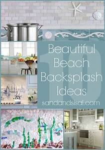 best 25 beach kitchens ideas on pinterest coastal With best brand of paint for kitchen cabinets with ocean themed wall art