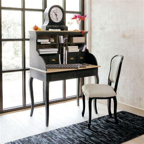 bureau secr 233 taire en bois chenonceau et chaise versailles maisons du monde secretaire