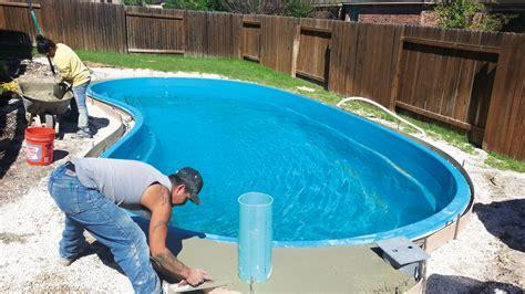 simple steps  fiberglass pool installation