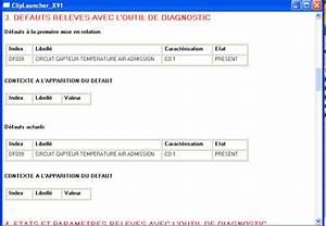 Code Defaut Renault Df : circuit capteur air temp rature admission df039 scenic 2 dci 130 fap ~ Gottalentnigeria.com Avis de Voitures