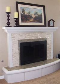 brick fireplace remodel Fireplace Remodels - Traditional - Living Room - san diego - by Jodie Williams