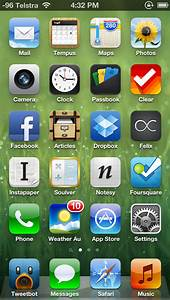 My iPhone 5 Homescreen