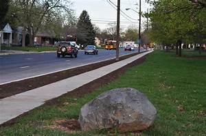 New sidewalks in Midtown Indy