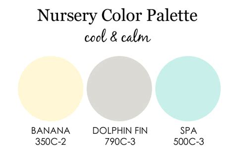 design reveal cool and calm nursery project nursery