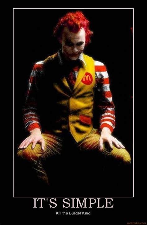 Ronald Mcdonald Meme - image 761051 ronald mcdonald vs the burger king know your meme