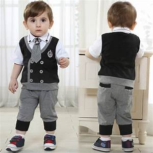 kids brand baby boy clothes boys formal wedding costume With baby boy dress clothes wedding