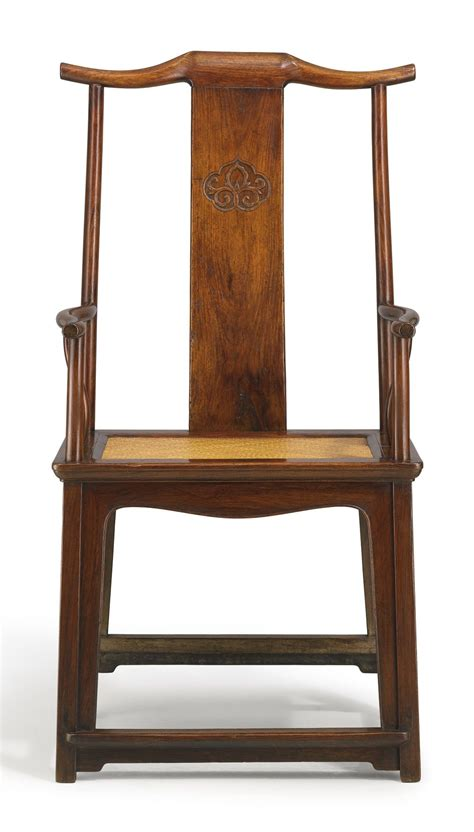 huanghuali high yoke  armchair late ming dynasty