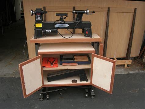 lathe stand  extension  brett stclair  lumberjockscom woodworking community