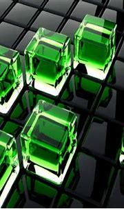 3d Green Cubes wallpaper by Samantha80 - 1d - Free on ZEDGE™