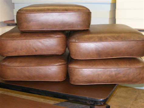 leather sofa seat cushion covers new replacement cores for leather furniture cushions firm cushions