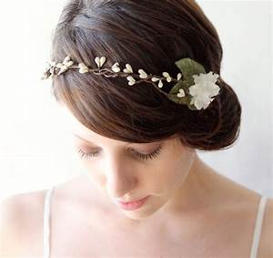 Rustic Bridal Head Piece Wedding Hair Accessory Woodland