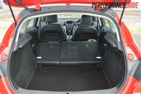 Opel Insignia Trunk Space by 2012 Opel Astra Sports Review Performancedrive