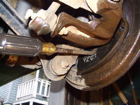 adjust  parking brake subaru outback subaru