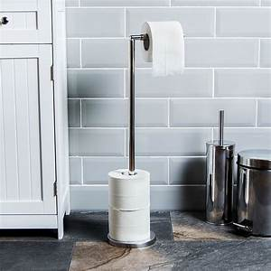 Toilet, Paper, Holder, Free, Standing, Loo, Roll, Tissue, Storage, Stand, By, Home, Discount, 5055998400351