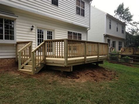 12x16 raised deck plans 12x16 deck deck pros