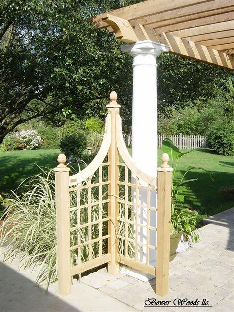 Garden Trellis by Bower Woods Llc Custom Garden Structures Trellis