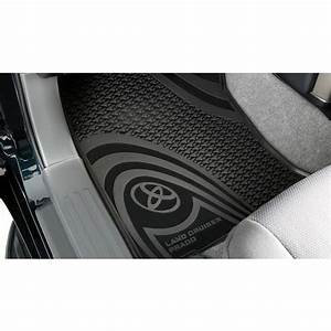 Toyota Prado 150 Series Front Rubber Floormats Aug 2009