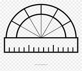 Coloring Tunnel Clipart Protractor Mountain Pinclipart sketch template