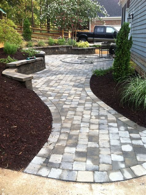 Paver Patio Ideas by Walkway Designs And Patio Designs Paver Patio Walkway