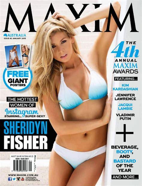 Sheridyn Fisher Maxim Magazine Australia January Issue