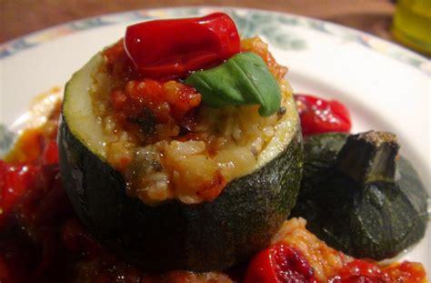 my cuisine rice stuffed zucchini