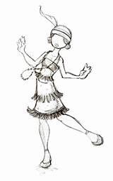 Flapper 1920s Drawing Deviantart Bad Sketches Katya Draw Sketch Coloring Pages Template Getdrawings 2007 sketch template