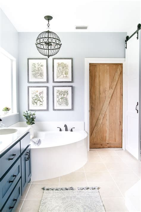Calming Paint Colors For Bathroom by Industrial Rustic Master Bath Retreat Bathrooms