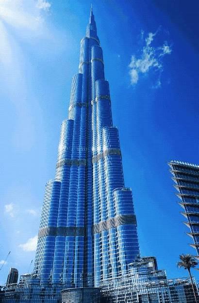 Dubai Khalifa Burj Buildings Uae Building Tallest